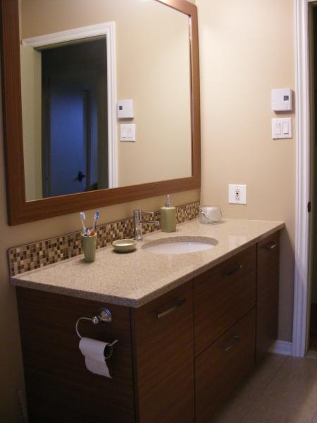 Drdm b nisterie de distinction r alisations for Peinturer un comptoir de salle de bain